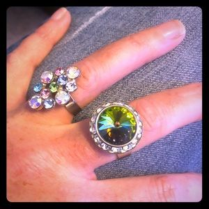 Jewelry - Set of Bling Statement Rings